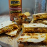Baked Bean Quesadillas with Bush's Beans