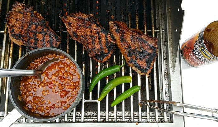 Harissa Marinaded Steak