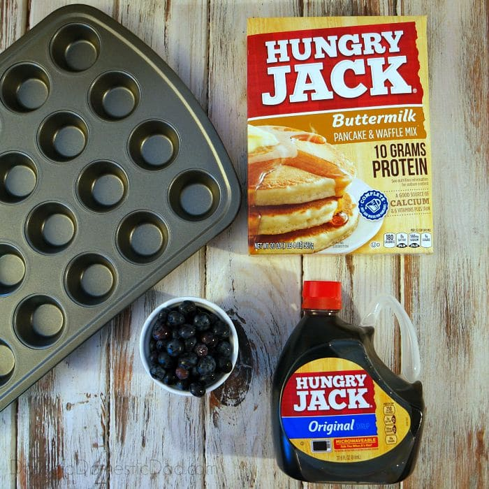 Hungry jack makes it easy with buttermilk pancakes and waffle mix pancake mini muffins ccuart Gallery