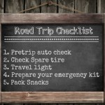 5 Tips When Traveling – Road Trip Checklist