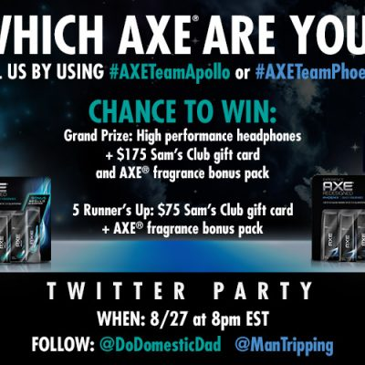 Join us for the Find Your Axe Twitter Party This Thursday August 27th at 8:00 pm EST