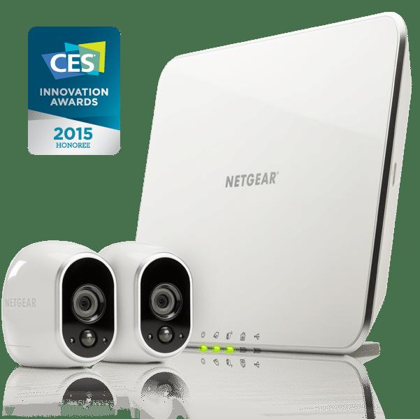 Netgear award winning home video surveillance with Arlo Cloud Storage.