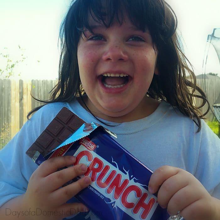 Nestle Crunch Escape Boredom Excited