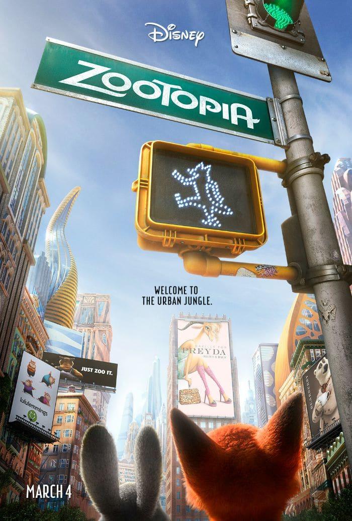 ZOOTOPIA - New Poster