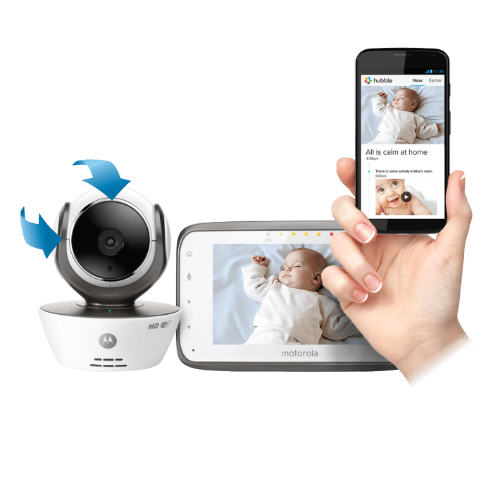 The Motorola MBP854CONNECT, the Most High-Tech Baby Monitor on the ...