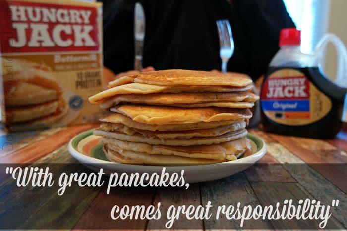 Hungry jack pancake mix directions just add water baik bag hungry jack s pancakes source hungry jack makes it easy with buttermilk pancakes and waffle mix ccuart Gallery