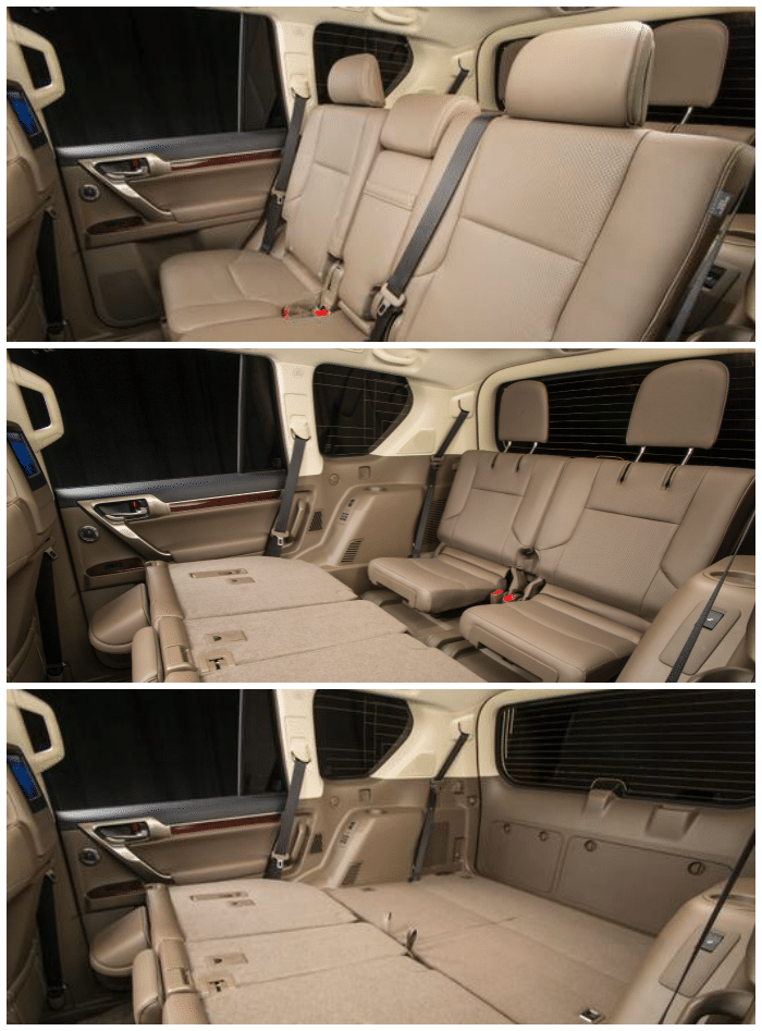 Lexus GX460 BackSeats