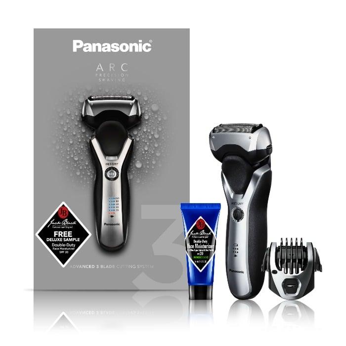 I Tossed the Disposable Razor and Upgraded to a Panasonic Arc3 Electric Shaver