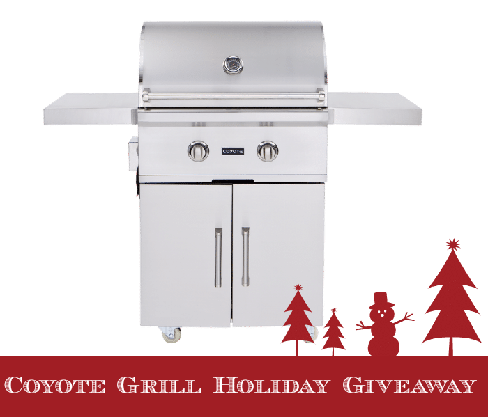"Coyote Grill Holiday Giveaway for a CCX2 ""Grill in a Box"""