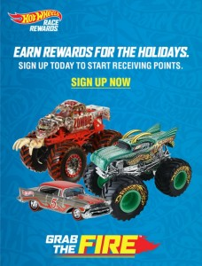 We are Racing Towards the Holidays With the Hot Wheels Race Rewards: Grab The Fire™