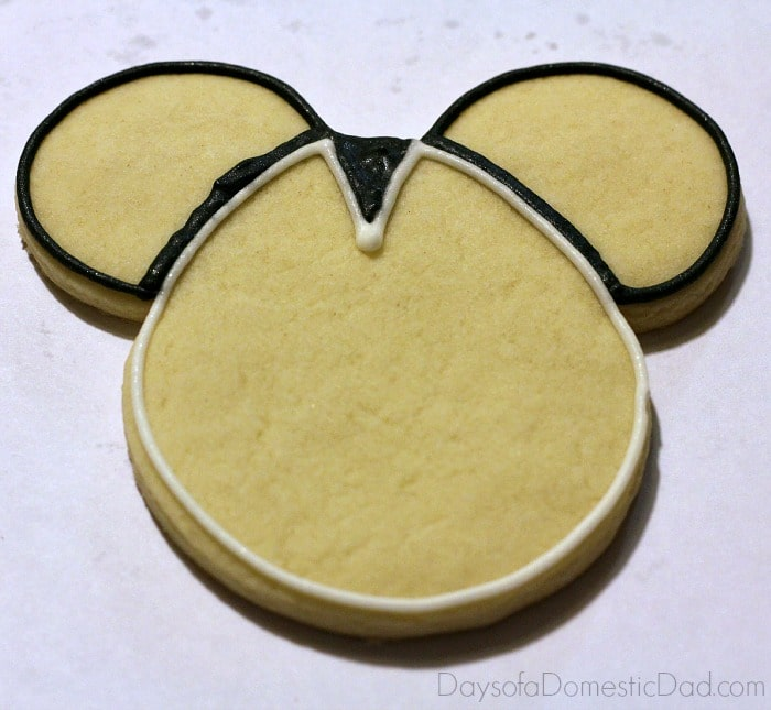 Star Wars Mickey Mouse Stormtrooper Cookies