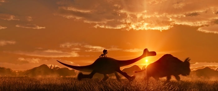 The Good Dinosaur Sunset