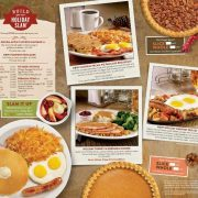 Denny's Holiday Menu