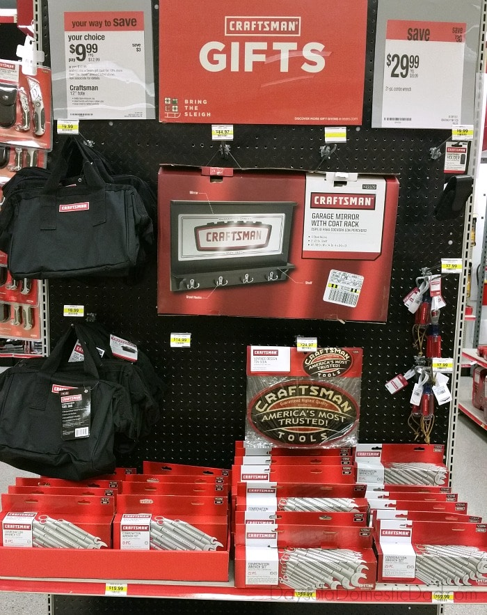 Craftsman Sears Perfect Gift #toolsfortheholidays
