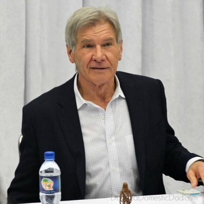 What Would You Ask Harrison Ford if You sat Across From Him