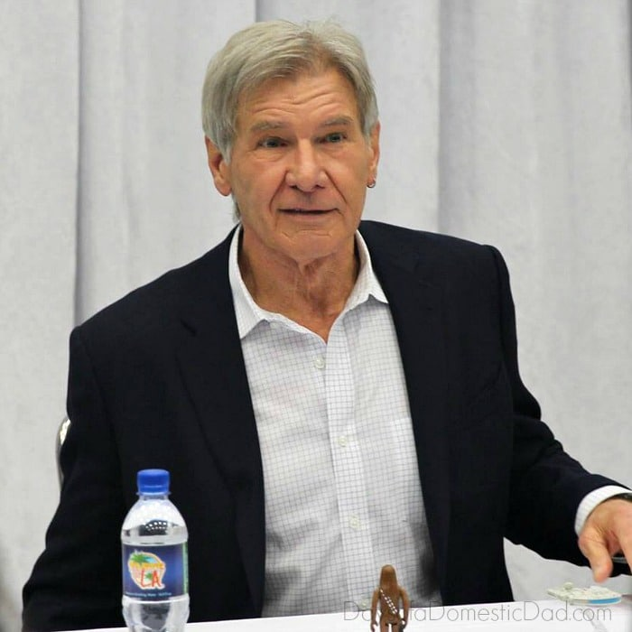 Harrison Ford Interview #StarWarsEvent