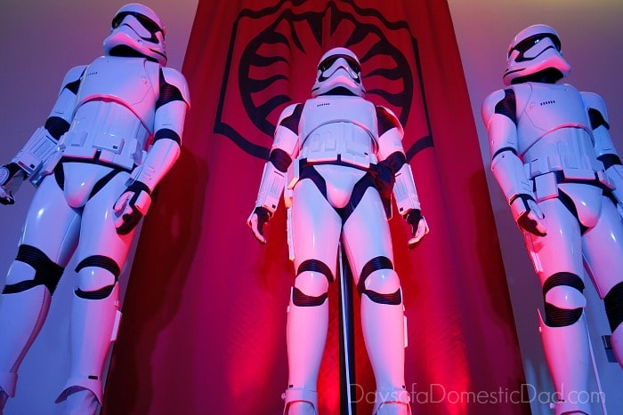 Star Wars The Force Awakens Global Press Press Day - Stormtroopers