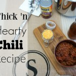 Everything is Better with a Bowl of my Thick 'n Hearty Chili