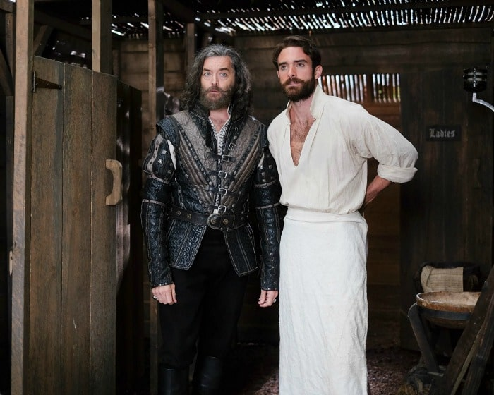Timothy Omundson and Joshua Sasse from Galavant - galavant season 2
