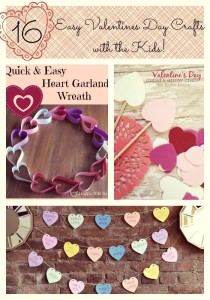 16 Easy Valentines Day Crafts with the Kids