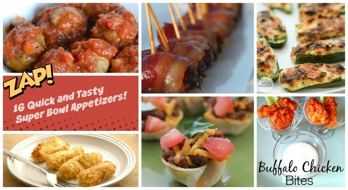 16 Quick and Tasty Super Bowl Appetizers