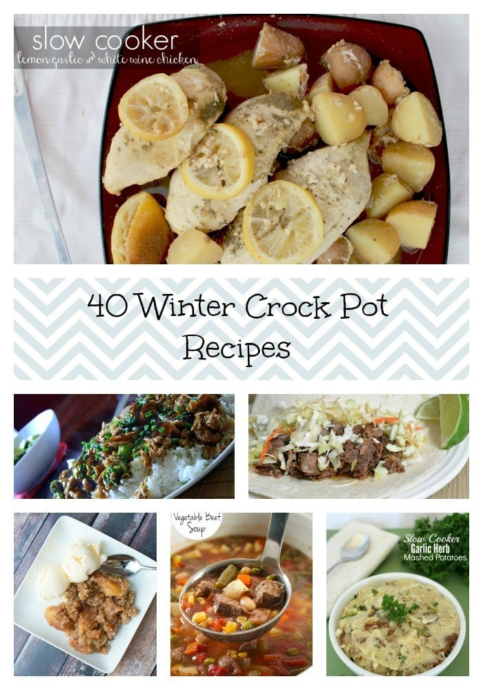 40 Crock Pot Winter Recipes For The Whole Family