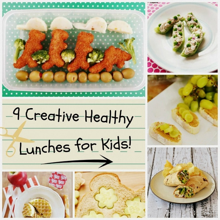 9 Creative Healthy Lunches for Kids
