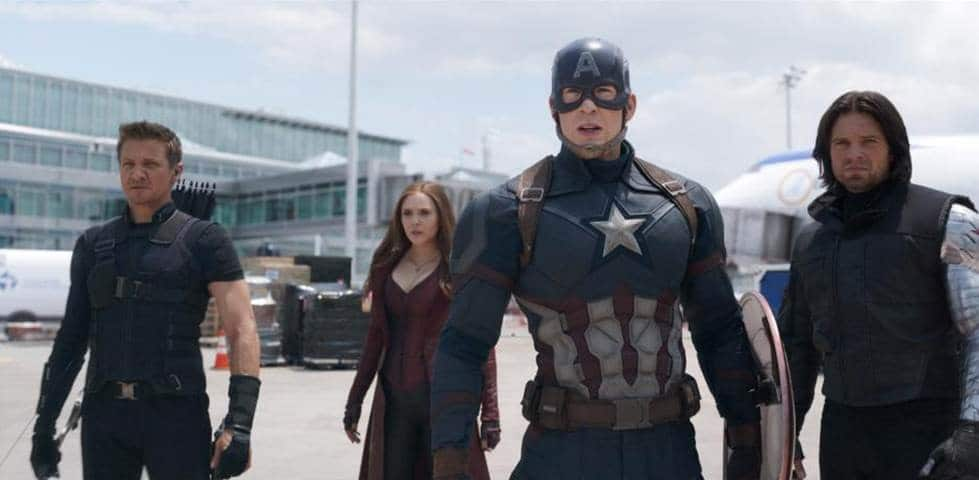 Captain Civil War Disney Teaser 2016
