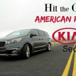 Hit the Great American Road in a 2016 Kia Sedona SX-L