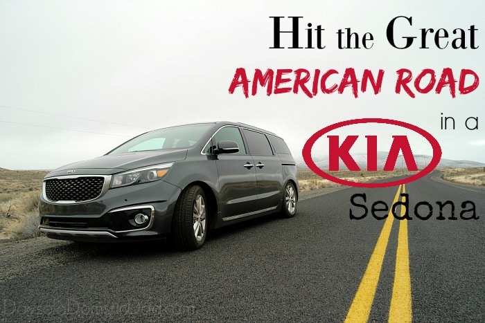 Hit the great american road 2016 Kia Sedona
