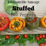 Johnsonville Sausage Bowl Stuffed Bell Peppers