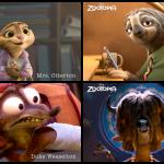 Meet the Cast of Zootopia