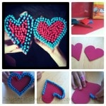 Valentine's Day Mosaic Heart