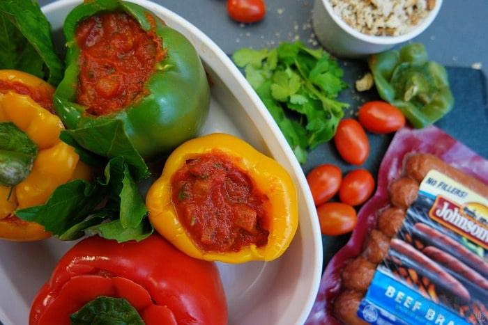 Dad's Stuffed Bell Peppers Recipe — Dishmaps