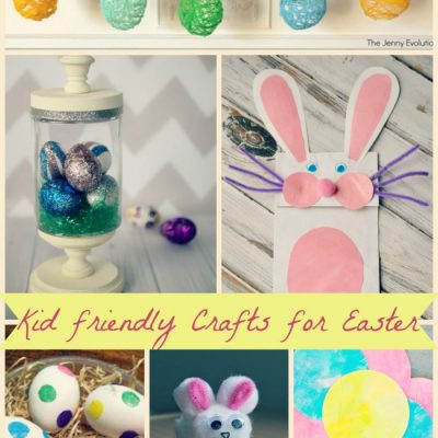12 Kid Friendly Crafts for Easter