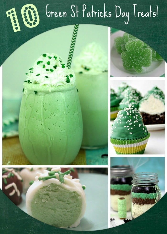 10 Green St Patrick's Day Treats