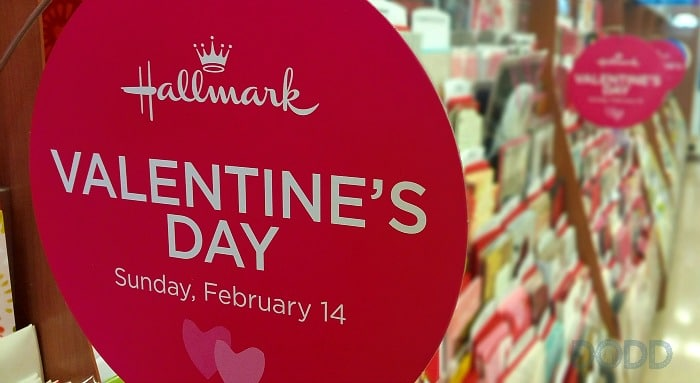 Walgreens' selection of Hallmark cards