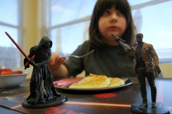 Hungry Jack Star Wars Breakfast