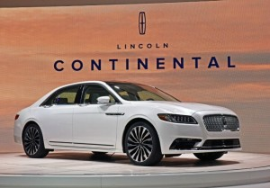 Let Me Introduce You to the 2017 Lincoln Continental