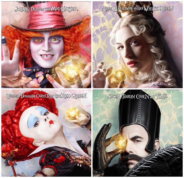 Meet the Cast of Alice Through the Looking Glass