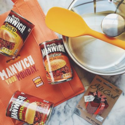 Join Us for the #ManwichMonday Twitter Party w/ @Manwich, on 2/22 at 8/7c – RSVP for #prizes!