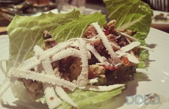 Carrabba's Small Plates Lettuce Wraps - carrabba's italian grill menu