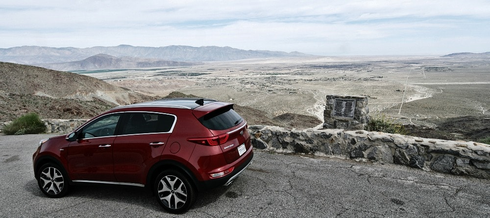 The Larger and Sportier 2017 Kia Sportage is Road Trip Ready