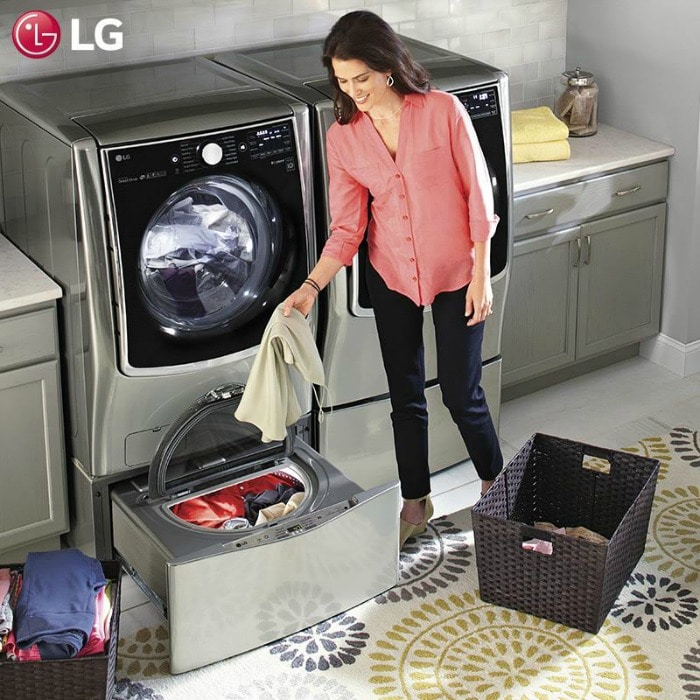 LG Twin Wash and Sidekick