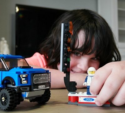 The F-150 Raptor Lego Speed Champions Set Rocks!