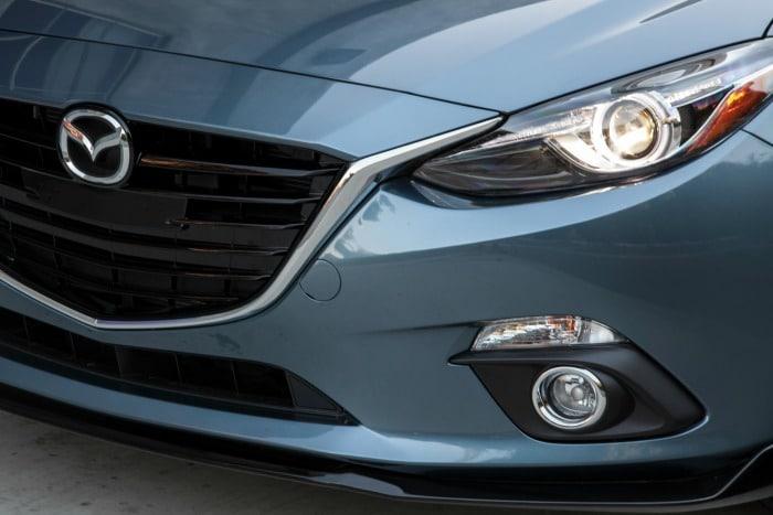 2016 Mazda3 Touring close up