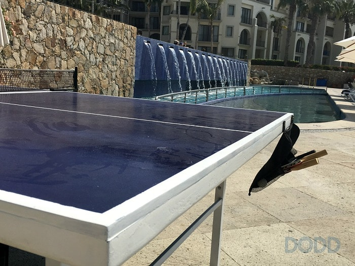 Dreams Resort Ping Pong Travel