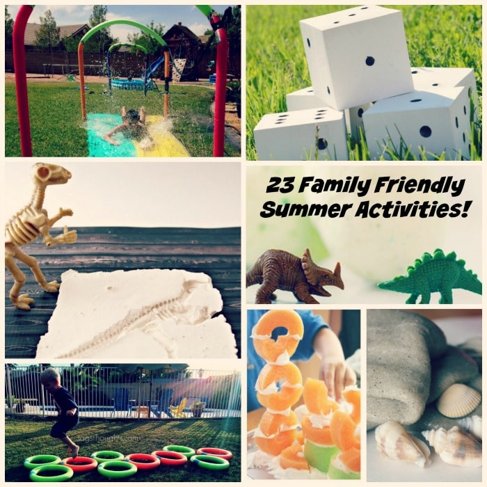 Family Friendly Summer Activities
