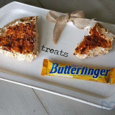 Summer Roasted Corn and Butterfinger Pie