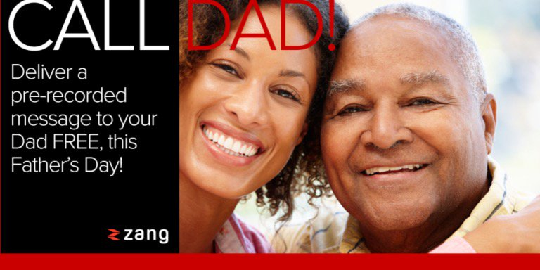 Forget Me Not - Fathers Day Message Service. #Zang4Dad #spon
